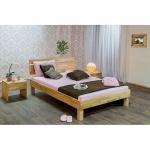 Massivholz, Jugendbett, Einzelbett, DREAM 140x200 cm, incl. Rollrost