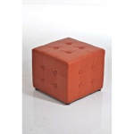 Besucherhocker Sitzhocker Cubic Kunstleder