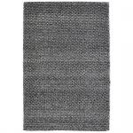 Teppich Wohnteppich Wollteppich My Logan, 100% Wolle, handgefertigt, graphit