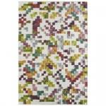 Teppich Wohnteppich My Ipala 3060, handgefertigt, Wolle-Viskose-Mix