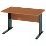 Schreibtisch BÜRO COMBI+ 1, 1.200 mm C-Fußgestell schwarz