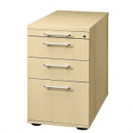 Büro Standcontainer mit Hängeregister Modell SC40 abschließbar