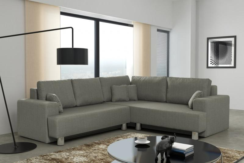 schlafsofa sofa couch ecksofa eckcouch braun schlaffunktion rom r kaufen bei kuechen. Black Bedroom Furniture Sets. Home Design Ideas