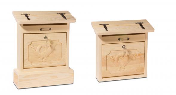 holzwaren wasmer holz briefkasten alztaler kaufen bei. Black Bedroom Furniture Sets. Home Design Ideas