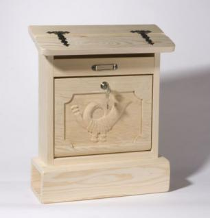 holzwaren wasmer holz briefkasten alztaler kaufen bei holzwaren johann wasmer. Black Bedroom Furniture Sets. Home Design Ideas