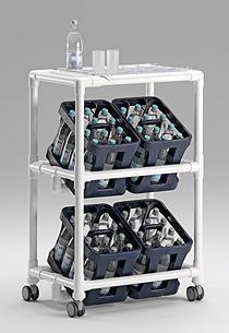 robuster getr nkewagen mit 24 gl serhalter kaufen bei n ssepezialisten f r hotels und b der. Black Bedroom Furniture Sets. Home Design Ideas