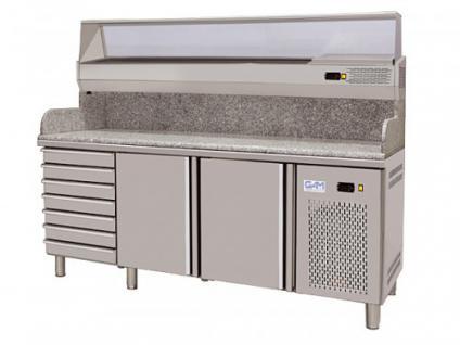 GAM TP-8-200-27D Pizzakühltisch