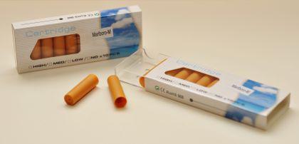 Depots (befüllt) für die Elektronische Zigarette