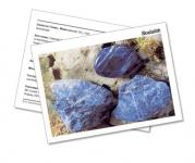 Infokarte / Mineralienkarte Sodalith
