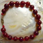 Kugelarmband Jaspis Carneol (gef.)