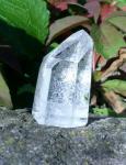Bergkristall-Spitze mit Inklusen, Einzelstück