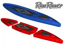 Point65 Rum Runner 11, 5 auseinandernehmbares SUP Board paddeln Stand up Paddling