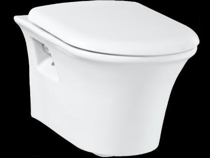 Hänge Wand Dusch Wc Taharet Bidet Taharat Toilette Creavit MOON mit flach Düse inkl. Soft-Close Wc Sitz