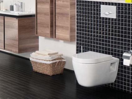 Hänge Wand Dusch Wc Taharet Bidet Taharat Toilette Creavit FR320 mit flach Düse inkl. Soft-Close Wc Sitz