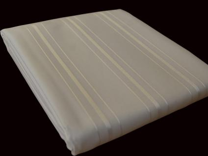 textil duschvorhang 220 x 200cm creme beige in sich gestreift inkl ringe kaufen bei ekershop. Black Bedroom Furniture Sets. Home Design Ideas
