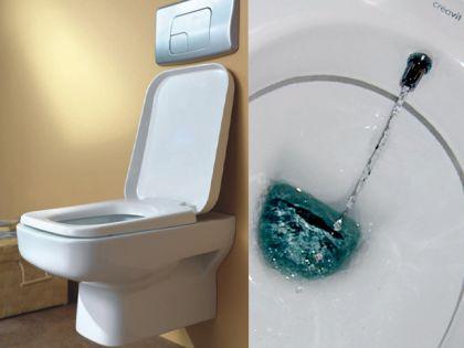 Hänge Wand Dusch Wc Taharet Bidet Taharat Toilette Creavit SP320 mit Düse inkl. Soft-Close Wc Sitz