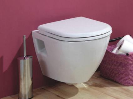 Hänge Wand Dusch Wc Taharet Bidet Taharat Toilette Creavit TP325 mit flach Düse inkl.Soft-Close Wc Sitz - Vorschau 4