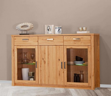 sideboard eiche massiv ge lt g nstig online kaufen yatego. Black Bedroom Furniture Sets. Home Design Ideas
