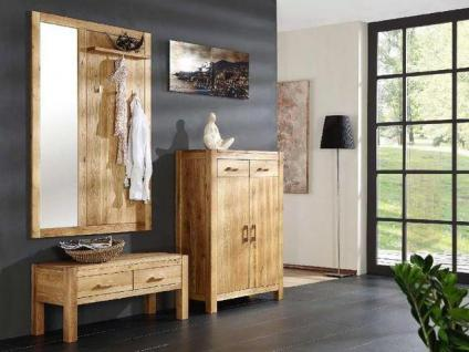 garderobe eiche massiv ge lt g nstig online kaufen yatego. Black Bedroom Furniture Sets. Home Design Ideas