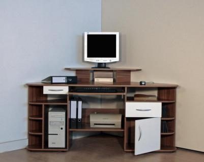 eck schreibtisch computertisch pc tisch bei yatego. Black Bedroom Furniture Sets. Home Design Ideas
