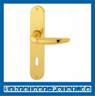 Hoppe Atlanta Messing poliert F71 Langschildgarnitur M1530/302, 2804053, 2132269, 2804096, 2804133, 2132293, 2804395 - Vorschau 1