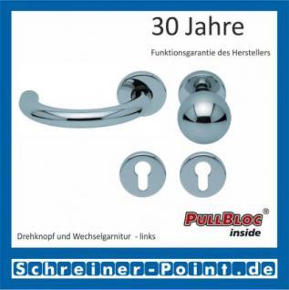 Scoop Baloo PullBloc Rundrosettengarnitur, Rosette Edelstahl poliert - Vorschau 5