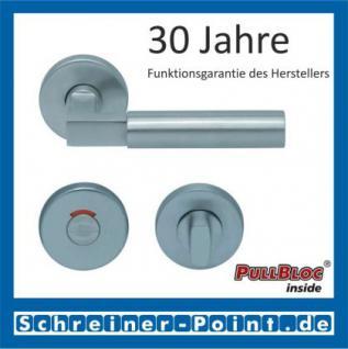 Scoop Bauhaus PullBloc Rundrosettengarnitur, Rosette Edelstahl matt! - Vorschau 4