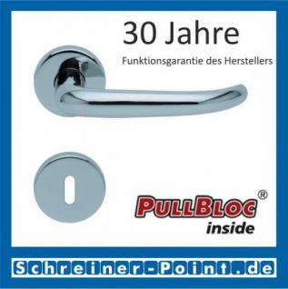 Scoop Dragon PullBloc Rundrosettengarnitur, Rosette Edelstahl poliert