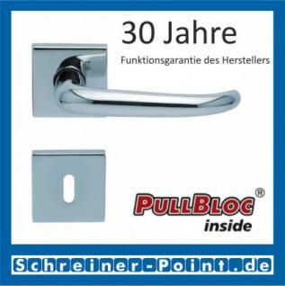 Scoop Dragon quadrat PullBloc Quadratrosettengarnitur, Rosette Edelstahl poliert - Vorschau 1