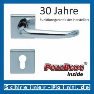 Scoop Dragon quadrat PullBloc Quadratrosettengarnitur, Rosette Edelstahl poliert - Vorschau 2