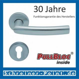 Scoop Geo PullBloc Rundrosettengarnitur, Rosette Edelstahl matt - Vorschau 2