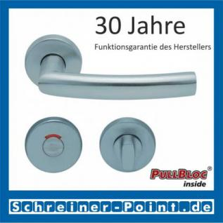 Scoop Geo PullBloc Rundrosettengarnitur, Rosette Edelstahl matt - Vorschau 4