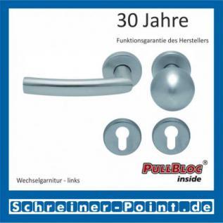 Scoop Geo PullBloc Rundrosettengarnitur, Rosette Edelstahl matt - Vorschau 5