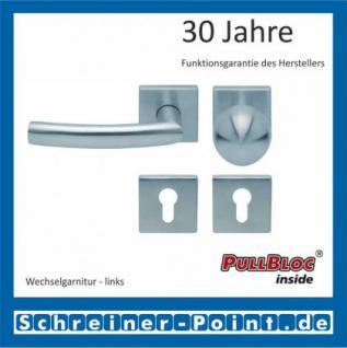 Scoop Geo quadrat PullBloc Quadratrosettengarnitur, Rosette Edelstahl matt - Vorschau 5