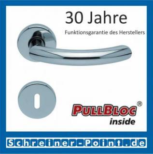 Scoop Golf PullBloc Rundrosettengarnitur, Rosette Edelstahl poliert