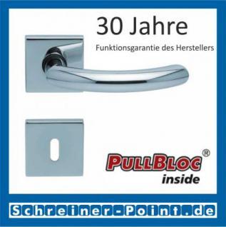 Scoop Golf quadrat PullBloc Quadratrosettengarnitur, Rosette Edelstahl poliert - Vorschau 1