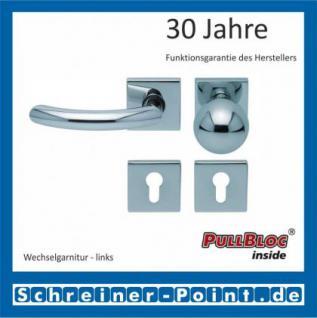 Scoop Golf quadrat PullBloc Quadratrosettengarnitur, Rosette Edelstahl poliert - Vorschau 5