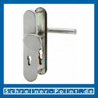 Schutzbeschlag Hoppe Amsterdam F69 Edelstahl E86G/3331/3330/1400Z ES1 (SK2), 3328087, 3328095 - Vorschau 1