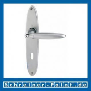 Hoppe Athinai Messing verchromt / matt verchromt F49-R/F98-R Langschildgarnitur M156/343, 2803780, 2803798, 2804002, 2804467