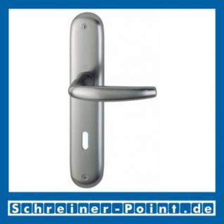 Hoppe Atlanta Aluminium Langschildgarnitur F9 Stahlfarben 1530/273P, 2791580, 2320892, 2791601, 2791627, 2409601, 2791969