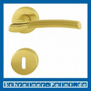 Hoppe Bergen Messing poliert / matt F77-R/F52-R Rosettengarnitur M1602/19KV/19KVS, 3043971, 3043989, 3043997, 3414903, 3114193