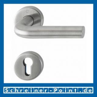 Hoppe Bonn Edelstahl Rosettengarnitur F69 E150Z/42KV/42KVS, 3289778, 6377378, 3289751, 3289866, 6377428, 3307155 - Vorschau 2