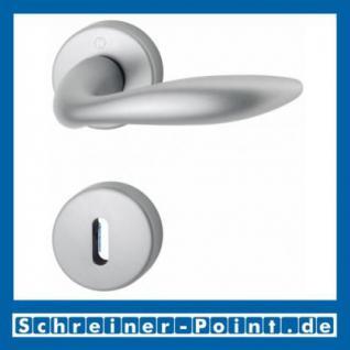 Hoppe Brisbane Aluminium Rosettengarnitur F1-2 Natur matt 1670/19KV/19KVS, 2803405, 2803456, 2803501, 2804563, 2804571