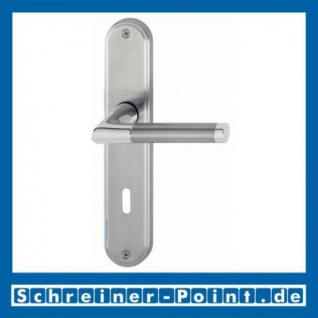 Hoppe Capri Messing verchromt /Edelstahl F49/F69 matt Langschildgarnitur M1950/3530, 2804344, 2804352 - Vorschau