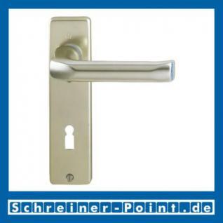 Hoppe London Aluminium Kurzschildgarnitur F2 Neusilber 113/202KP, 6675110, 6780084, 6675201, 6675284