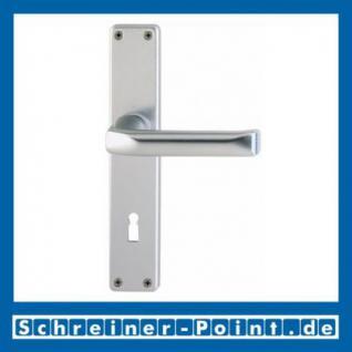 Hoppe London Aluminium Langschildgarnitur F1 Natur 113/202SP, 6675326, 6797278, 6675383, 6675425
