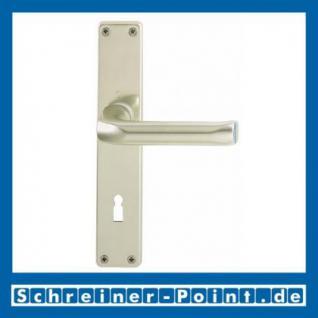 Hoppe London Aluminium Langschildgarnitur F2 Neusilber 113/202SP, 6675334, 6797302, 6824593, 6675391, 6675458, 6824635 - Vorschau