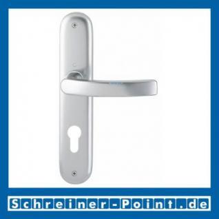 Hoppe Luxembourg Aluminium Langschildgarnitur F1 Natur 199/273P, 2962019, 2962043, 2962060, 2806551 - Vorschau 2