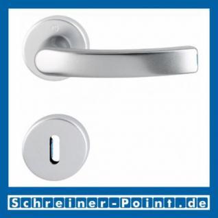 Hoppe Luxembourg Aluminium Rosettengarnitur F1 Natur 199/42KV/42KVS, 2958685, 2962166, 2962174, 2801821
