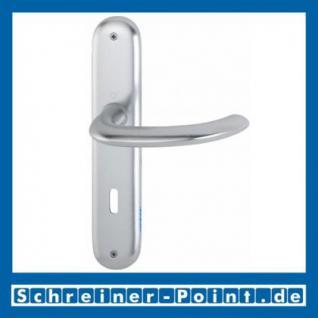 Hoppe Marseille Aluminium Langschildgarnitur F1 Natur 1138/273P, 2784718, 2768128, 2784857, 2785542, 2768144, 2785761